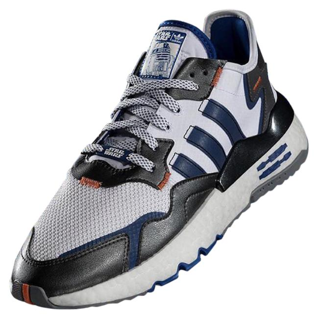 Item - Black White Blue Nite Jogger J- Star Wars R2d2 Sneakers Size US 6 Regular (M, B)