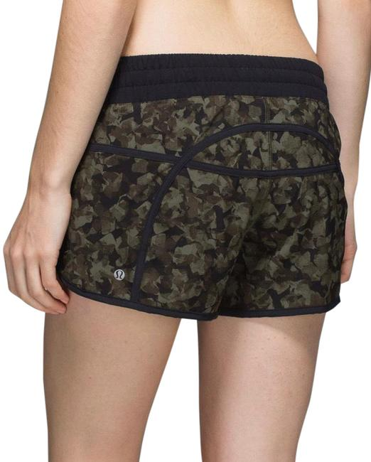 Item - Mystic Jungle Fatigue Green Black Rare Tracker Iii 4 Way Stretch Activewear Bottoms Size 6 (S)