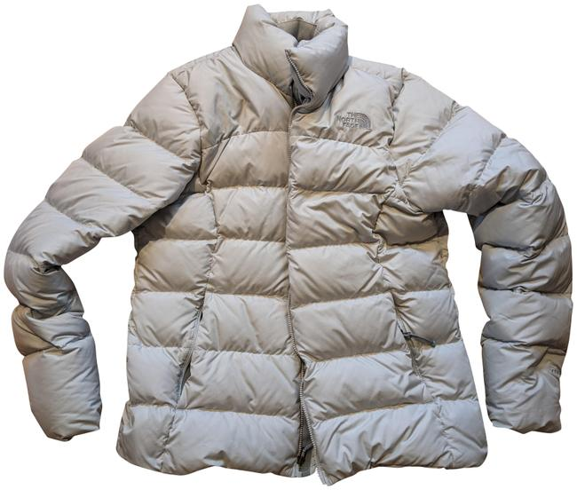 The North Face Silver Grey 700 Puffer Activewear Outerwear Size 8 (M) The North Face Silver Grey 700 Puffer Activewear Outerwear Size 8 (M) Image 1