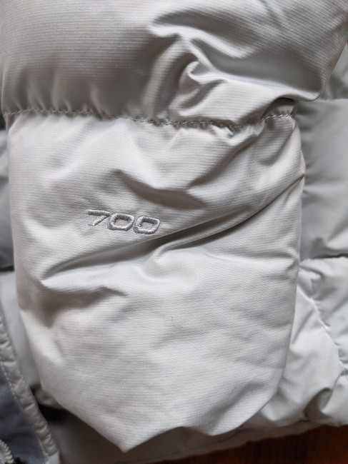 The North Face Silver Grey 700 Puffer Activewear Outerwear Size 8 (M) The North Face Silver Grey 700 Puffer Activewear Outerwear Size 8 (M) Image 2