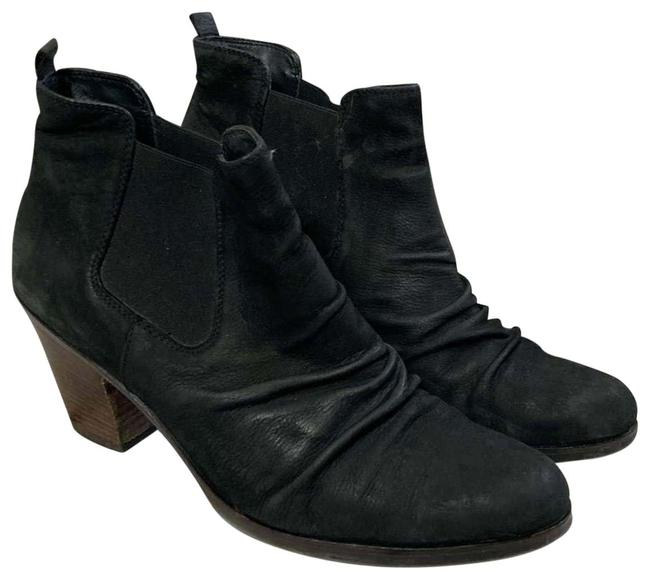 Item - Black Comfortable Munchen 'jano' Leather Ankle Boots/Booties Size US 8.5 Regular (M, B)