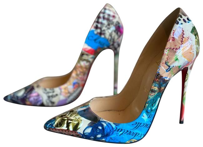 Item - Multicolor Patent Trash So Kate 120 Pumps Size US 6.5 Narrow (Aa, N)