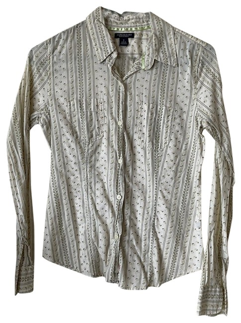 Item - Pre Loved Long Sleeve Button-down Top Size 2 (XS)