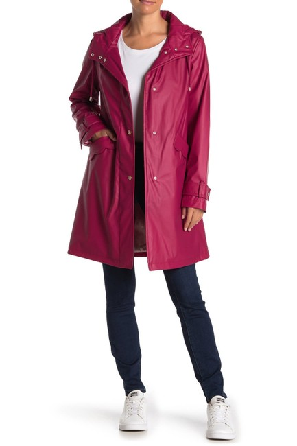 Item - Pokeberry New York Scallop Water-resistant Coat Jacket Size 8 (M)
