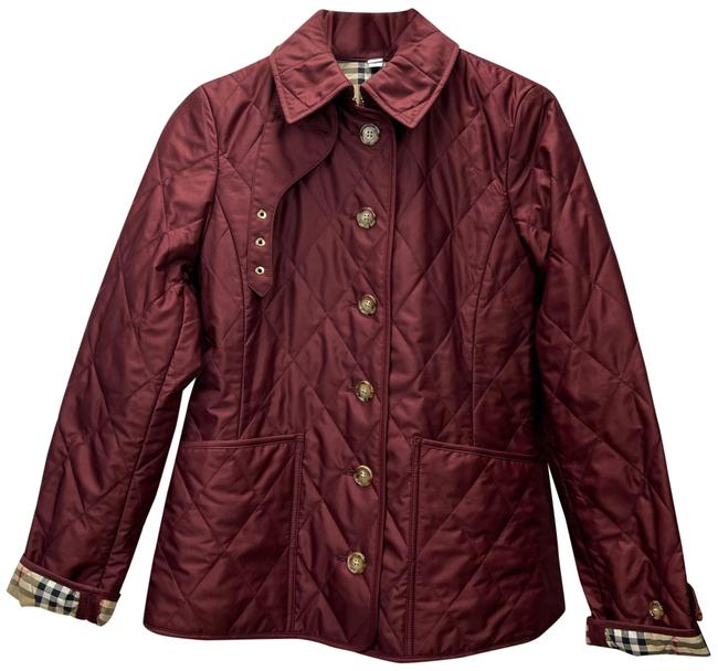 Item - Red Fernleigh Quilted Thermoregulated Jacket Size 4 (S)