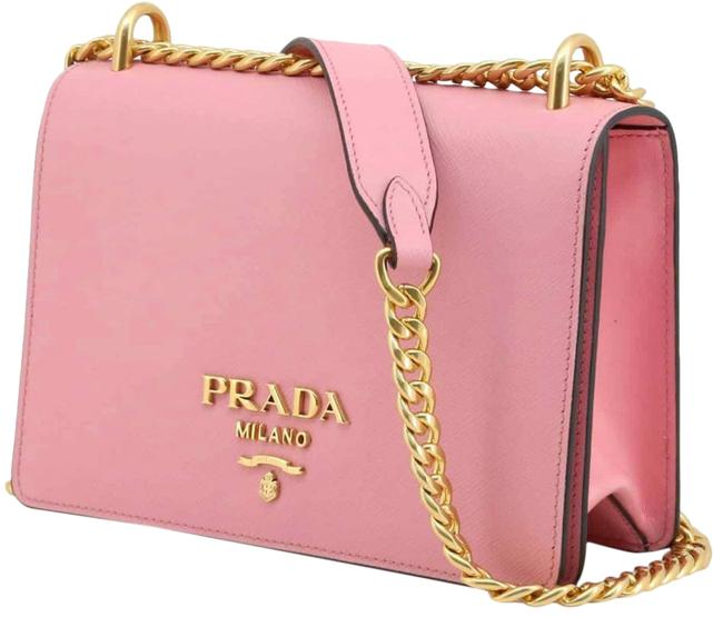Item - Chain New Purse Pink Leather Cross Body Bag