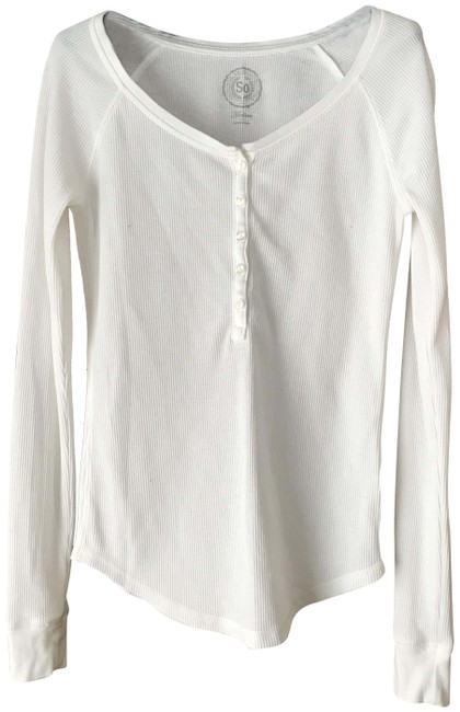 Item - Off-white Henley Tunic Size 8 (M)