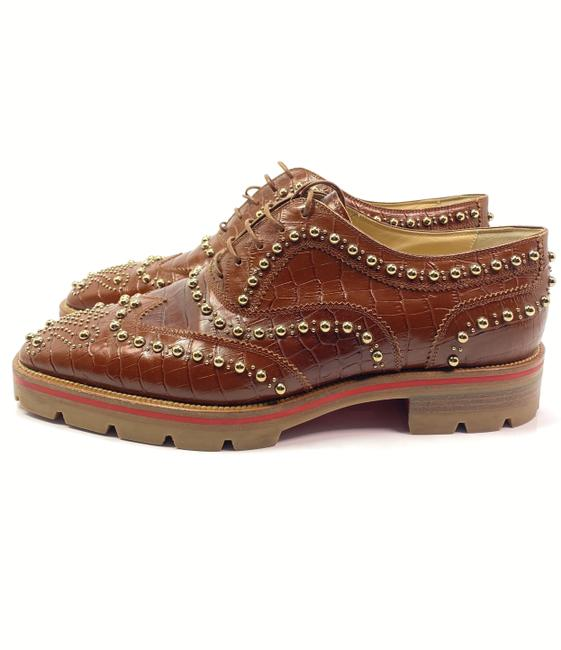 Item - Brown Crapadonna Lace-up White Brogues Oxfords Boots/Booties Size EU 40.5 (Approx. US 10.5) Regular (M, B)