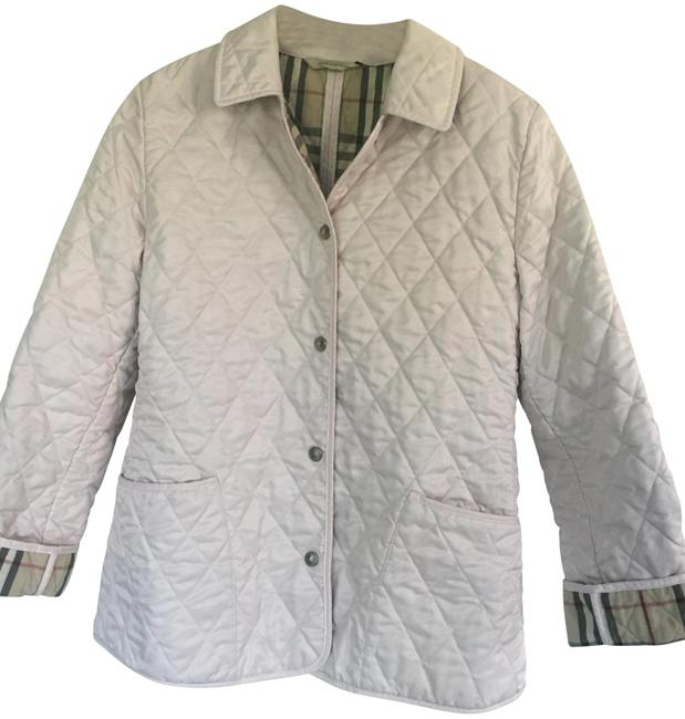 Item - Light Pink London Quilted Jacket Size 6 (S)