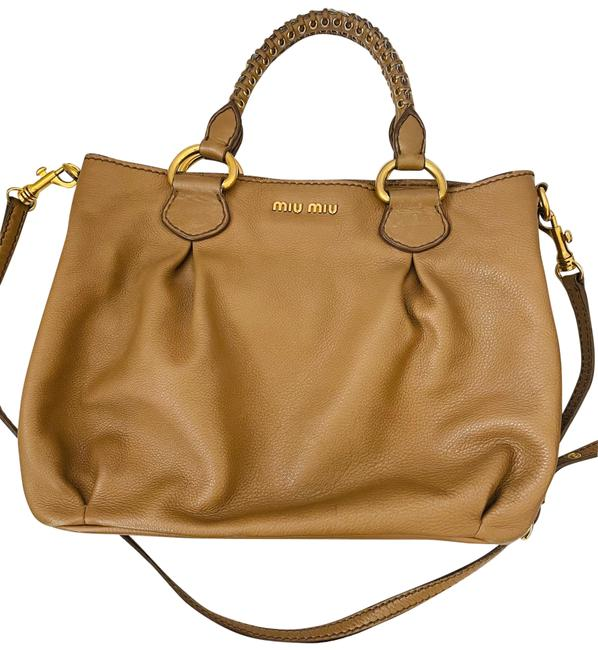 Item - Vitelli with Removable Shoulder Strap Brown Leather Tote