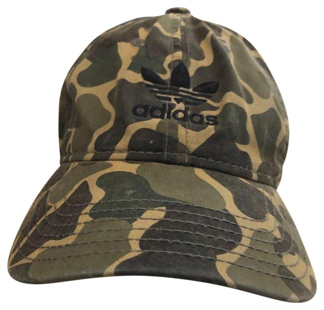 Item - Green Camo Cotton Os Hat