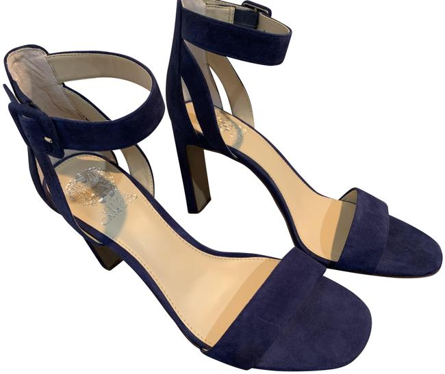Item - Navy Blue Bevveyn Sandals Size US 9 Regular (M, B)