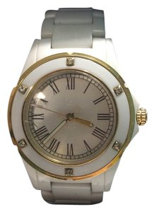 Juicy Couture Juicy Couture White & Gold Watch