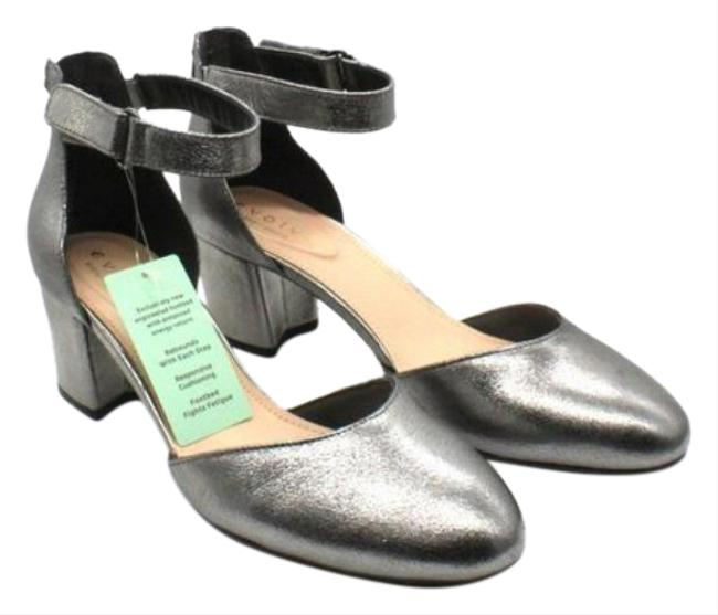 Item - Gray Silver Women's Crystal Pumps Size US 10 Regular (M, B)