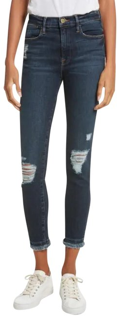 Item - Montclair Distressed Le High Double Raw Ankle Skinny Jeans Size 2 (XS, 26)