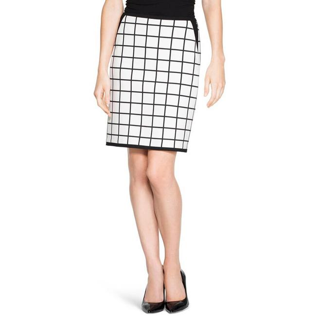Item - Bm Windowpane Pencil Skirt Size 2 (XS, 26)