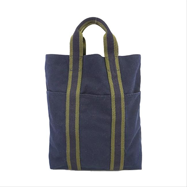 Item - Fourre Tout Bag Fool Toe Women's Navy Canvas Tote