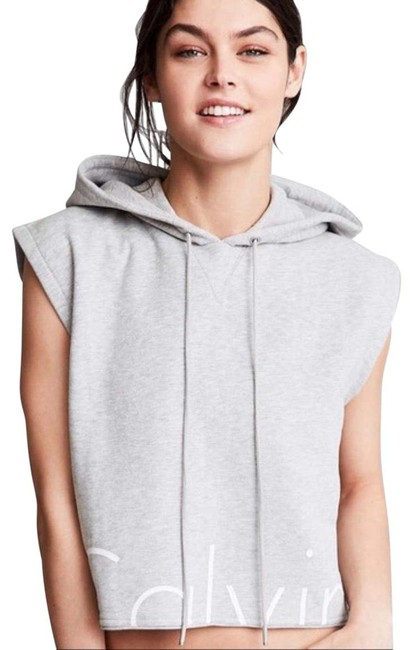 Item - Gray For Uo Sleeveless Sweatshirt Activewear Outerwear Size 8 (M)