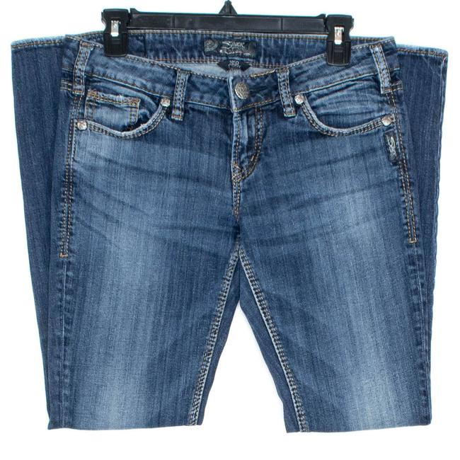 Item - Blue Womens Aiko At Skinny Jeans Size 29 (6, M)