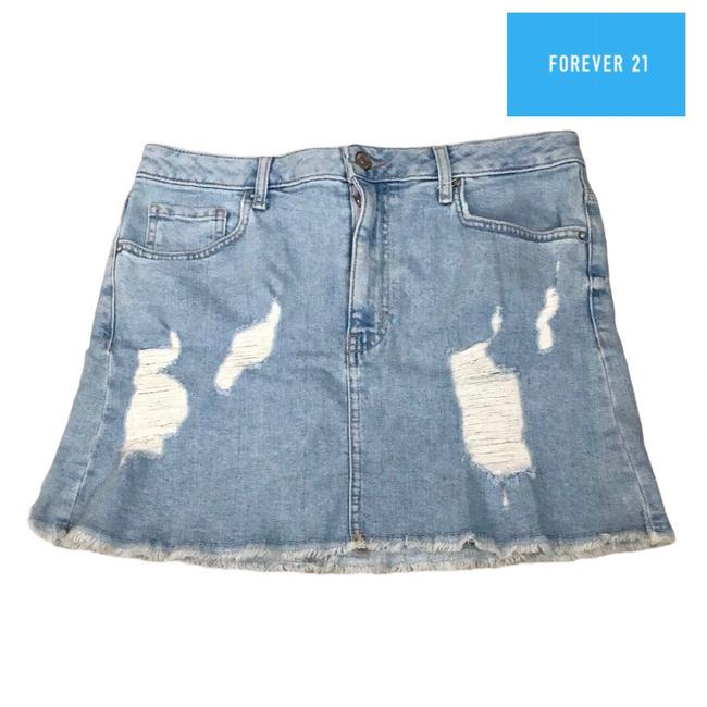 Item - Blue Denim Wmns Skirt Size 10 (M, 31)