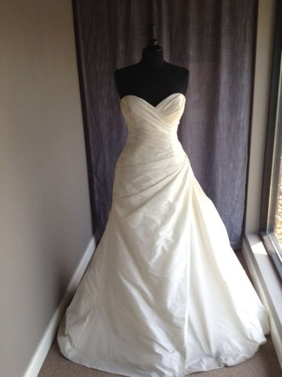 Pronovias Harlem Modern Wedding Dress Size 14 (L)