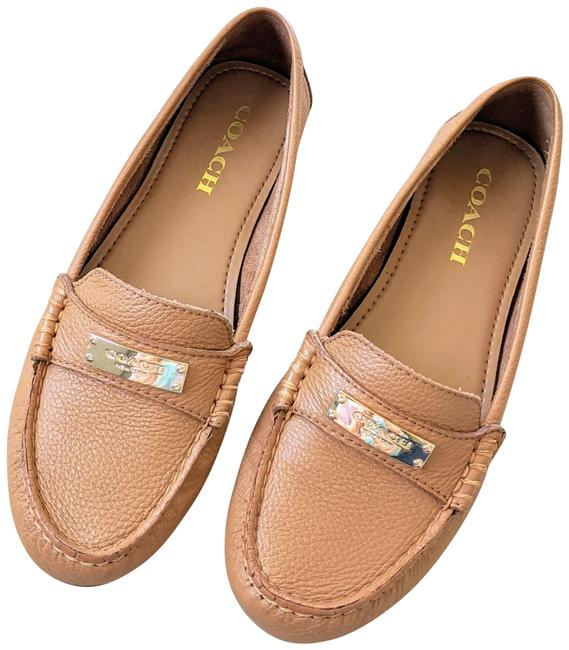 Item - Brown Driving Loafers Fredrica Flats Size US 7.5 Regular (M, B)