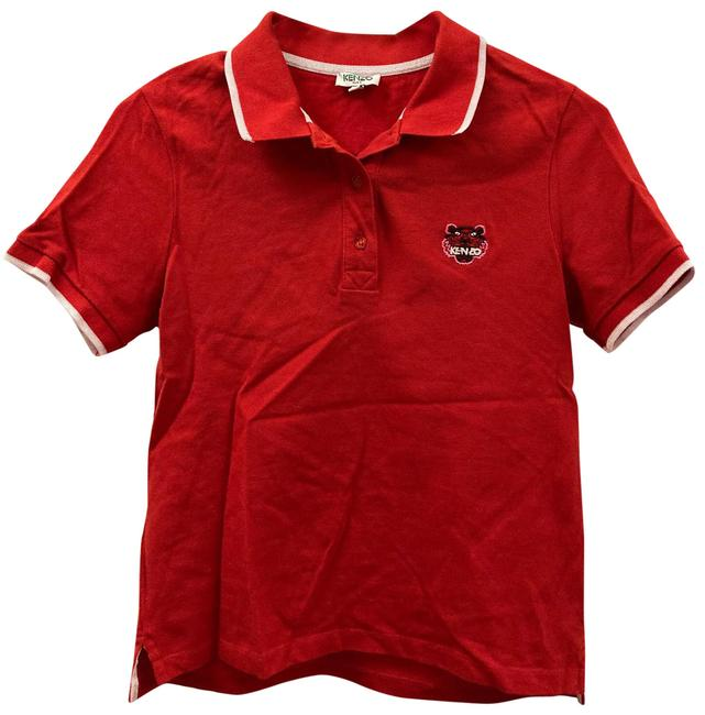 Item - Red Polo Tee Shirt Size 4 (S)