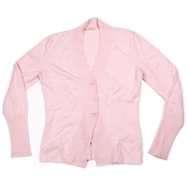 Item - Light Pink Cashmere Sweater Baby Button Us Small S Cardigan Size 4 (S)