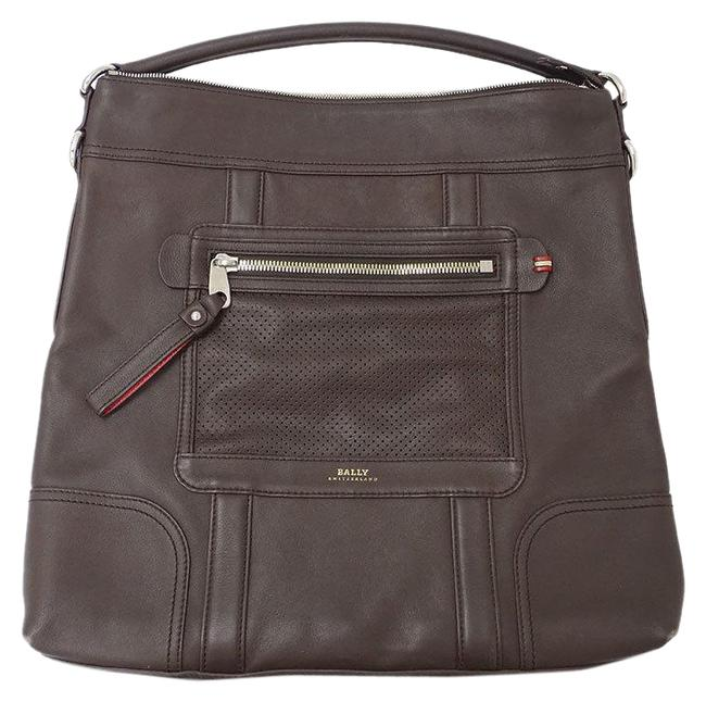 Item - 2way Men's Brown Leather Shoulder Bag
