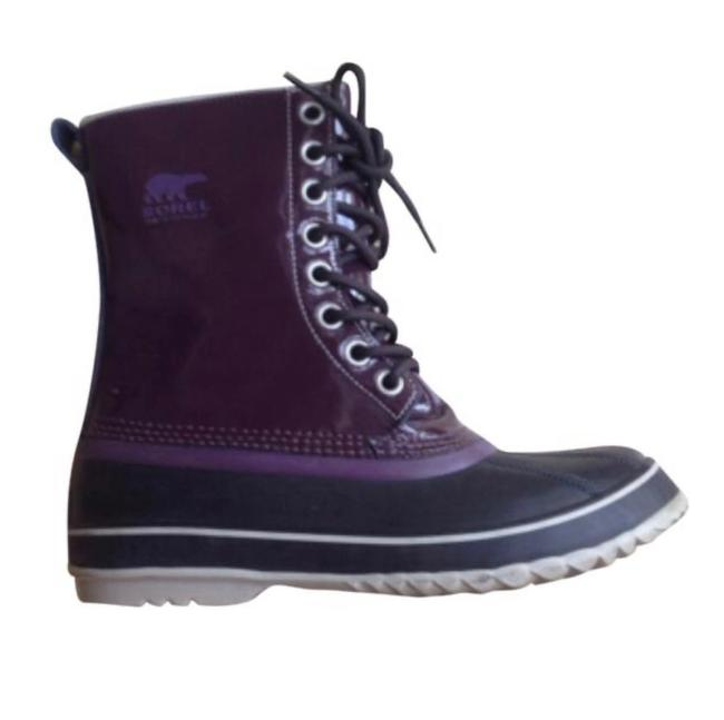 Item - Purple Dahalia Boots/Booties Size US 7 Regular (M, B)