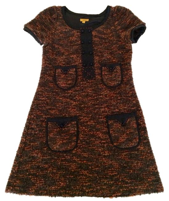 Preload https://item2.tradesy.com/images/lulumari-rusty-and-black-outlines-mini-short-casual-dress-size-4-s-2906611-0-0.jpg?width=400&height=650