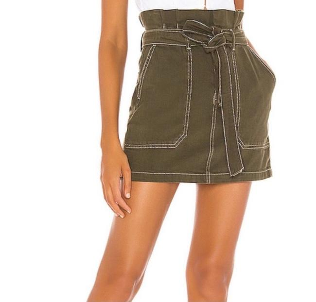 Item - Green Army Skirt Size 10 (M, 31)