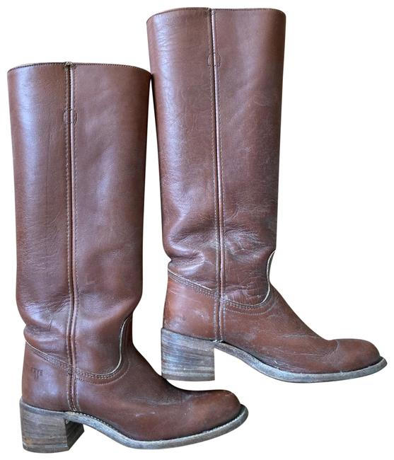 Item - Brown 0000 Boots/Booties Size US 7.5 Narrow (Aa, N)