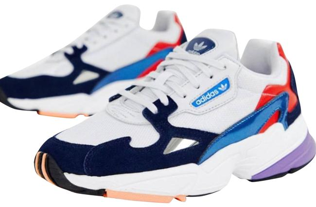 Item - White Falcon White/Navy/Red Sneakers Size US 9 Regular (M, B)