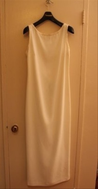 Cache Ivory Elegant Gown Long Formal Dress Size 10 (M) Cache Ivory Elegant Gown Long Formal Dress Size 10 (M) Image 1