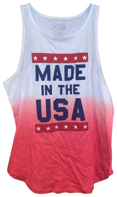 Item - Red Women's M Tank Top/Cami Size 8 (M)