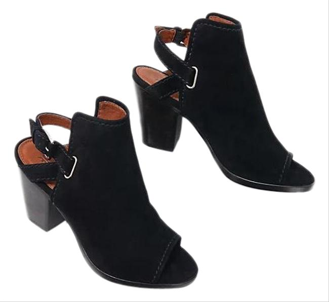 Item - Black Dani Suede Sling Ankle Boots/Booties Size US 8 Regular (M, B)