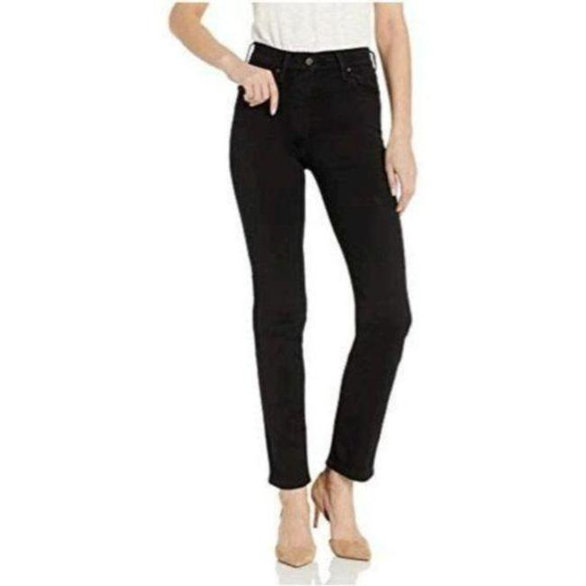 Item - Black Dark Rinse 724 High Straight Leg Jeans Size 27 (4, S)