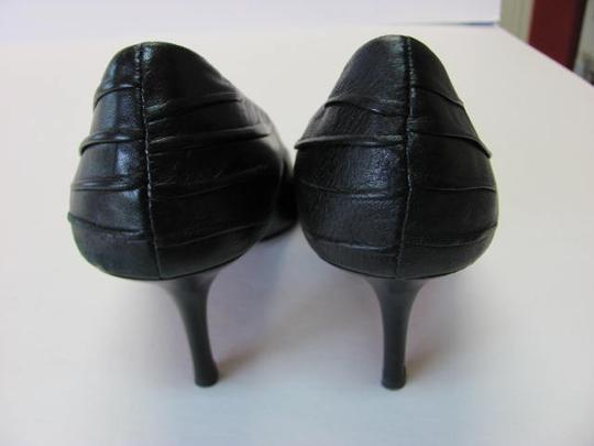 Ellen Tracy Very Good Condition Size 8.50m Leather black Pumps Image 2