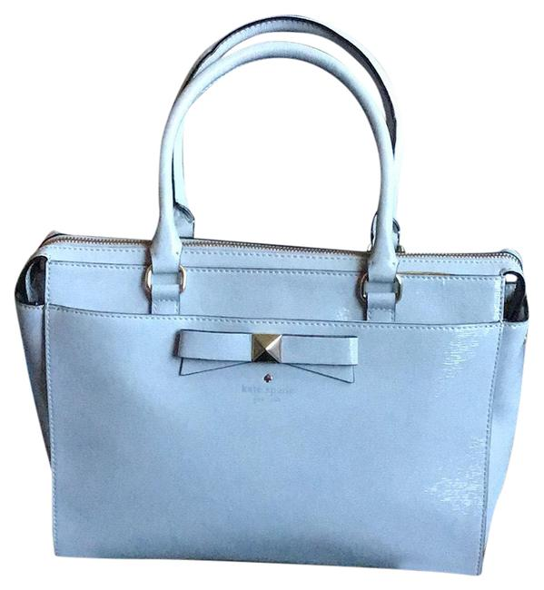 Item - Light Smoke Leather Satchel
