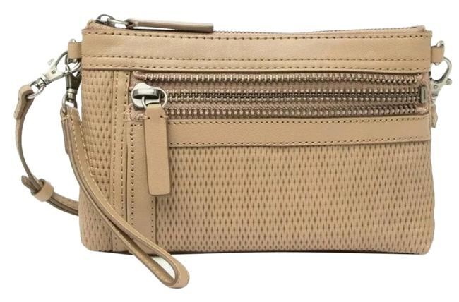 Item - Lena Leather In Taupe Cross Body Bag