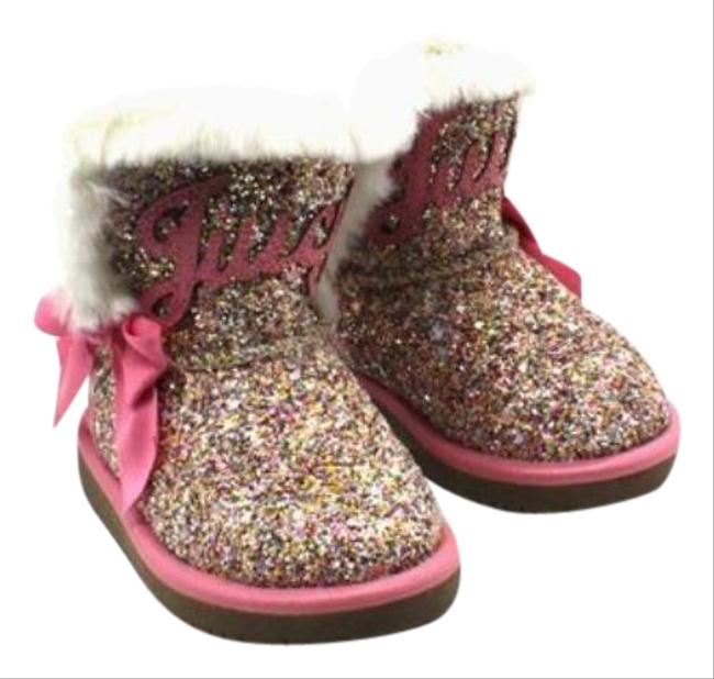 Item - Pink Toddler Girls Cozy Boots/Booties Size US 5 Regular (M, B)