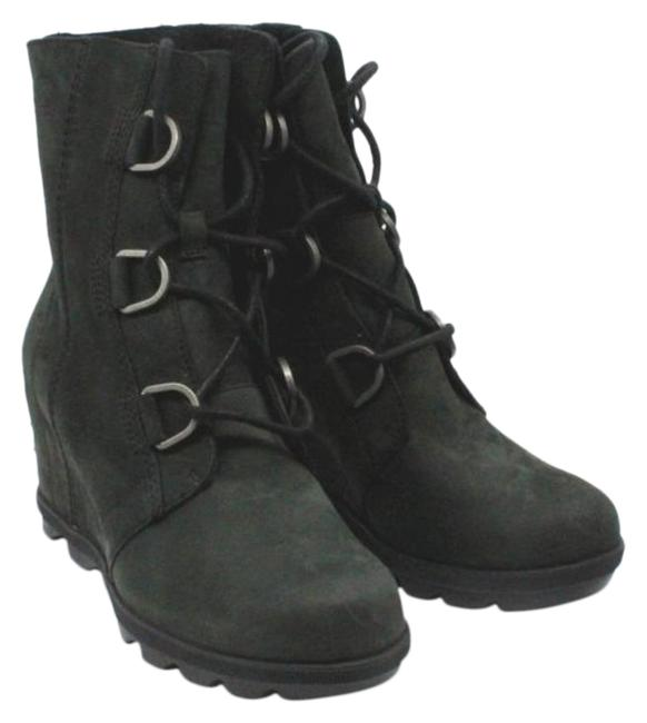 Item - Black Women's Joan Of Arctic Ii Waterproof Wedge Boots/Booties Size US 7 Regular (M, B)