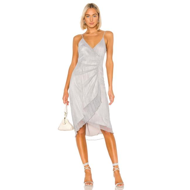 Item - Blue Revolve Mariana In Dusty Mid-length Cocktail Dress Size 4 (S)