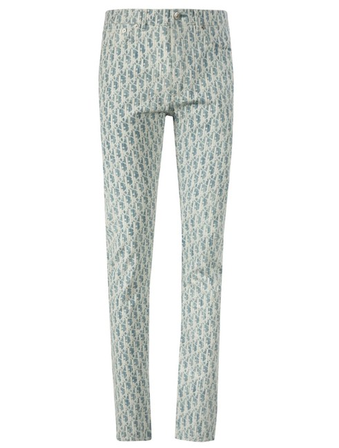 Item - Blue and White Straight Leg Jeans Size 8 (M, 29, 30)