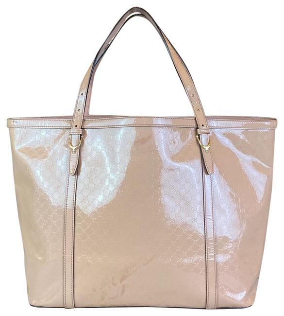Item - Logo Patent Leather Large Tote