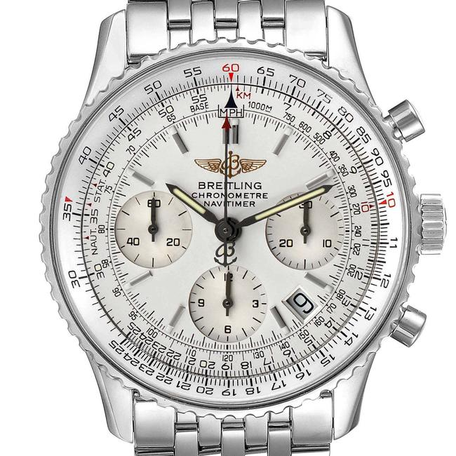 Item - Silver Navitimer Chronograph Dial Steel Mens A23322 Watch