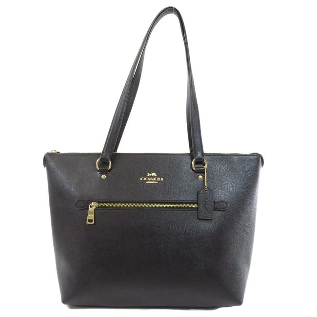 Item - Bag F79608 Logo Motif Ladies Black Leather Tote