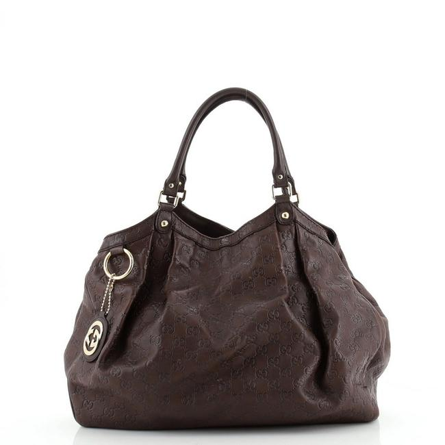 Item - Bag Sukey ssima Large Brown Leather Tote