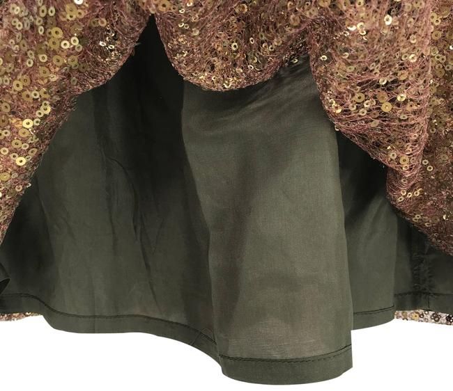 Item - Gold Sequins Skirt Size 4 (S, 27)